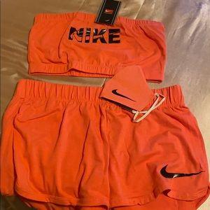 Nike tube top sets